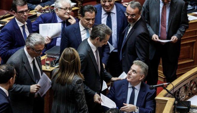 Ψηφοφορία επί των αναθεωρητέων διατάξεων του Συντάγματος, στην Ολομέλεια της Βουλής την Δευτέρα 25 Νοεμβρίου 2019.