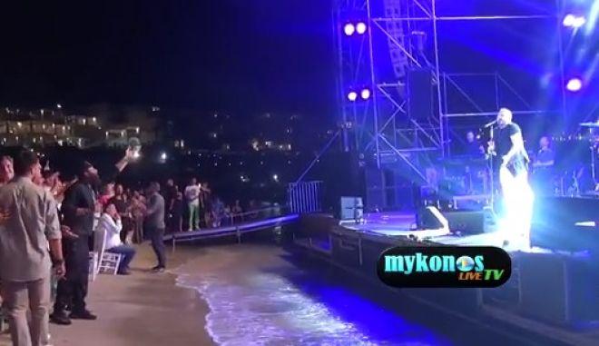 Ρέμος - Ramazzotti στο Nammos: Η συναυλία του 1,6 εκατ. ευρώ