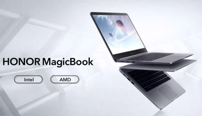 Honor MagicBook 14 και 15.6''
