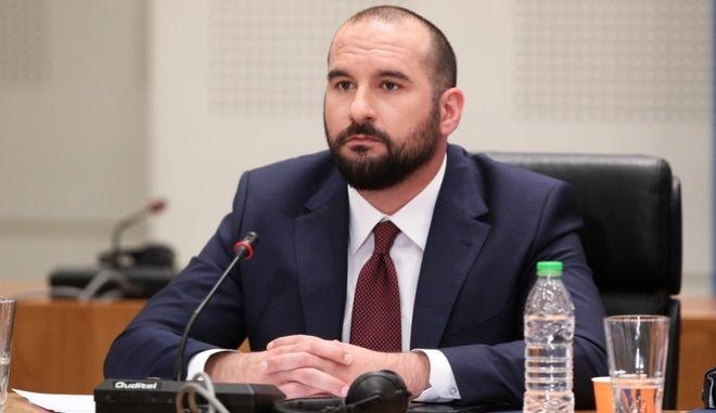 Ο Γραμματέας της Κ.Ε. του ΣΥΡΙΖΑ-Π.Σ. Δημήτρης Τζανακόπουλος