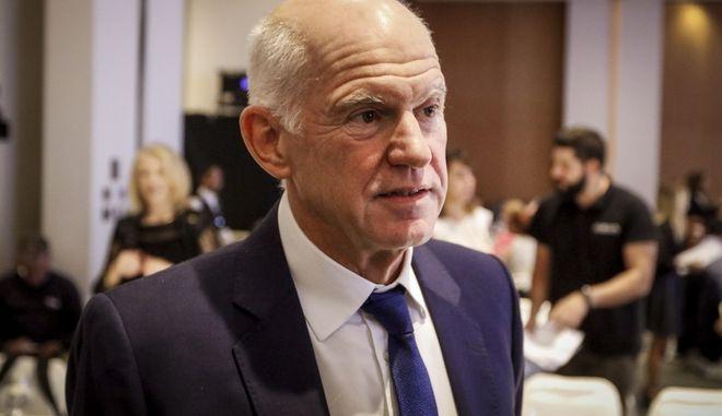 Ο πρώην πρωθυπουργός, Γιώργος Α. Παπανδρέου