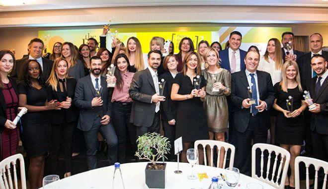 14 Βραβεία σε 8 κατηγορίες απονεμήθηκαν στα HR Excellence Awards