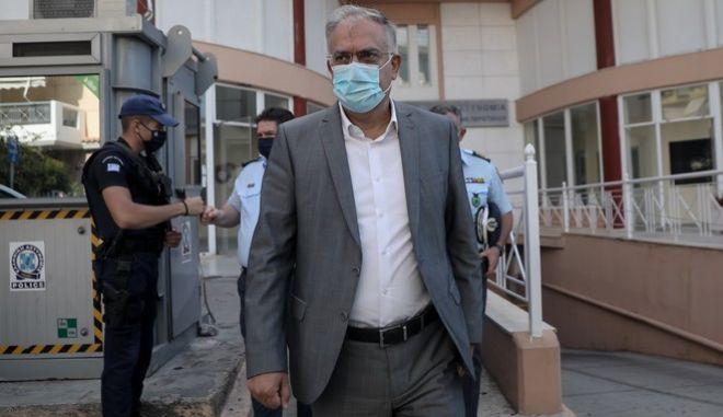 Ο υπουργός Προστασίας του Πολίτη, Τάκης Θεοδωρικάκος