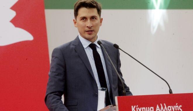 Ο εκπρόσωπος τύπου του ΚΙΝΑΛ Παύλος Χρηστίδης