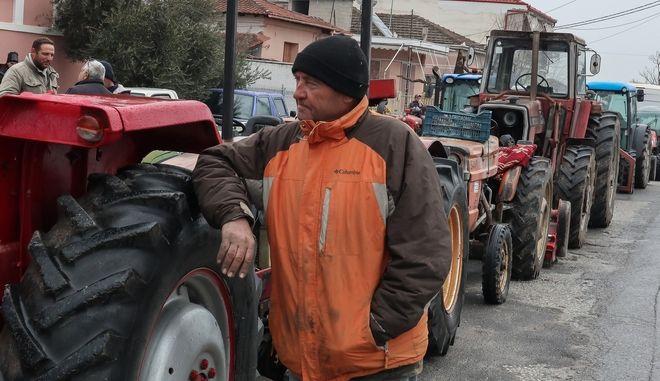Κινητοποίηση αγροτών στον Τύρναβο του ν. Λάρισας την Δευτέρα 27 Ιανουαρίου 2020