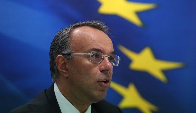 Ο υπουργός Οικονομικών Χρήστος Σταϊκούρας.