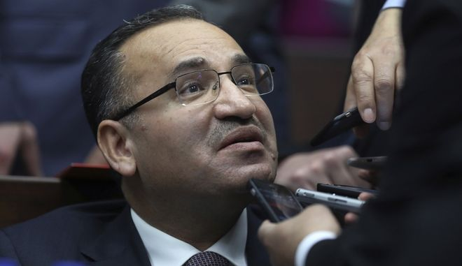 Ο Τούρκος Αντιπρόεδρος,  Μπεκίρ Μποζντάγ