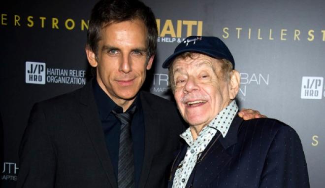Ο Ben Stiller με τον πατέρα του Jerry Stiller