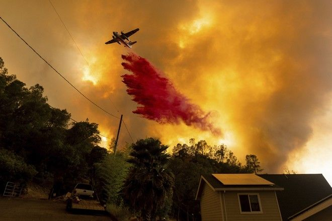 Φωτιές στην Καλιφόρνια