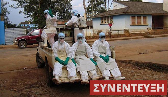 """Ιωάννης Τσελέντης: """"Ο ιός Έμπολα, μπορεί να είναι θανατηφόρος στο 90% των περιπτώσεων. Η επιδημία έχει φτάσει στις πόλεις και δείχνει ανεξέλεγκτη"""""""