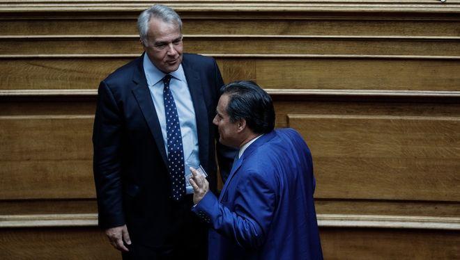 O Μάκης Βορίδης και ο Άδωνις Γεωργιάδης
