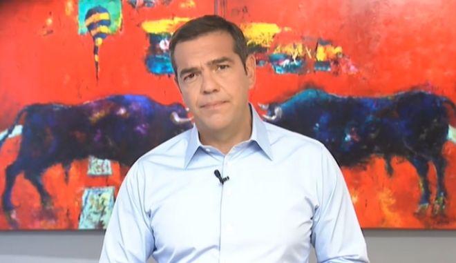 """Τσίπρας: """"Τα σχολεία ανοίγουν όπως έκλεισαν, χωρίς καμία ιδιαίτερη προετοιμασία"""""""