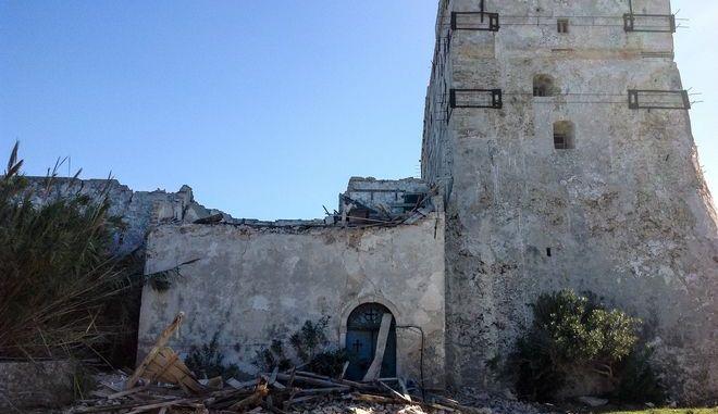 Καταστροφές από τον ισχυρό σεισμό 6,4 Ρίχτερ στον υποθαλάσσιο χώρο ανοικτά της Ζακύνθου