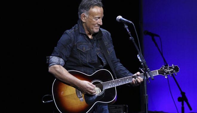 Ο 70χρονος πια Bruce Springsteen