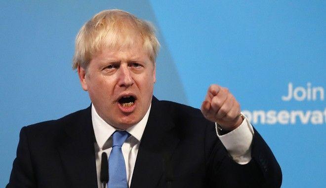 Ο νέος βρετανός πρωθυπουργός Μπόρις Τζόνσον