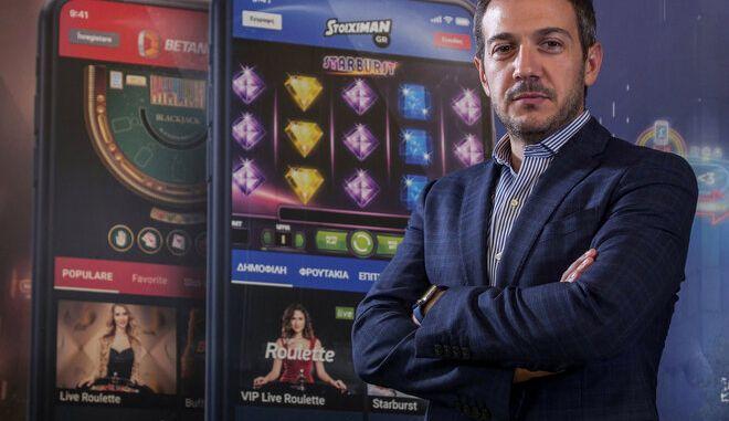 Ο Ιωάννης Κουτράκος,  Group Marketing Director  της Kaizen Gaming