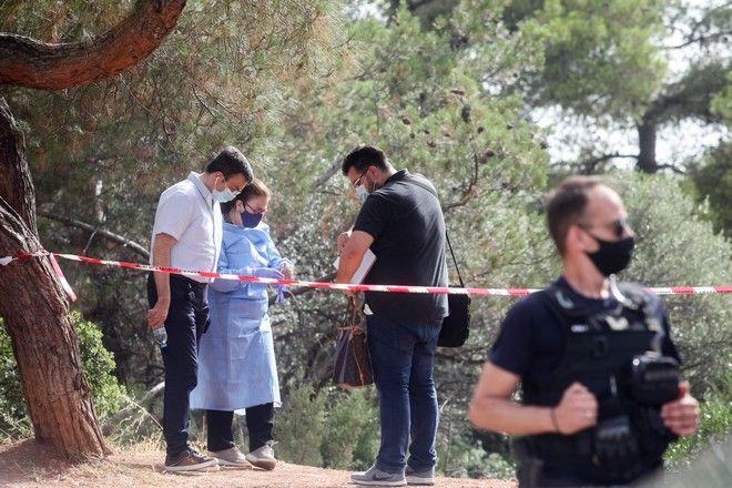 Το σημείο στην Αγία Παρασκευή όπου βρέθηκε νεκρός ο Σταύρος Δογιάκης