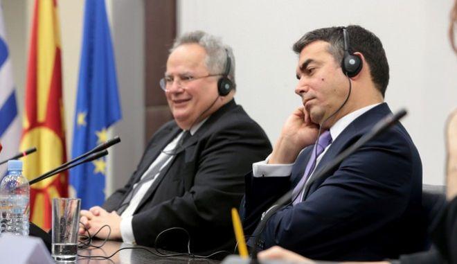 Στιγμιότυπο από την τελευταία συνάντηση των δύο υπουργών