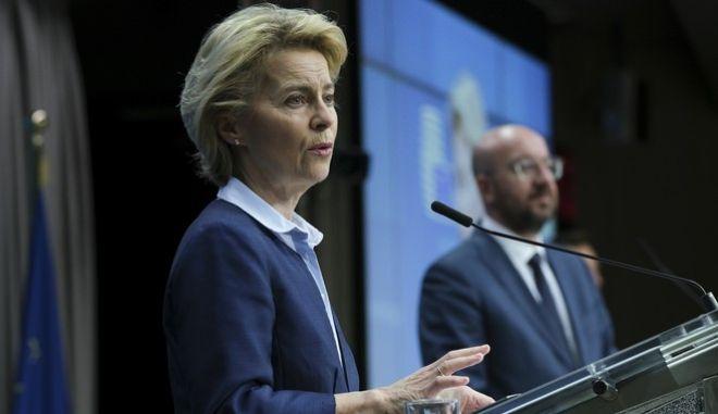 Ούρσουλα φον ντερ Λάιεν, Πρόεδρος της Ευρωπαϊκής Επιτροπής