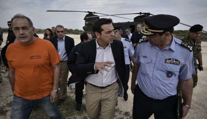Άμεσα μέτρα για τη Θάσο ανακοίνωσε ο Α. Τσίπρας