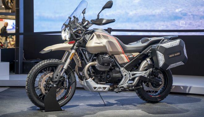 Moto Guzzi V85 TT Travel: η απόλυτη «ταξιδιάρα»