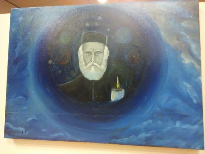 Ο Σταμάτης Γονίδης μιλά στο News 24/7 για την 'αυτόματη ζωγραφική' του