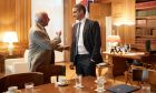 O Prem Watsa κατά τη συνάντησή του με τον πρωθυπουργό, Κυριάκο Μητσοτάκη