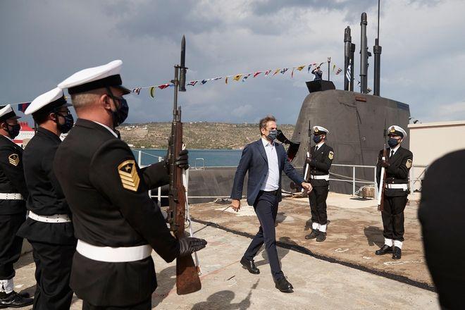 Μητσοτακης: Τα υπερσύγχρονα υποβρύχιά μας, είναι οι αόρατες και αθόρυβες ασπίδες για τα κυριαρχικά μας δικαιώματα