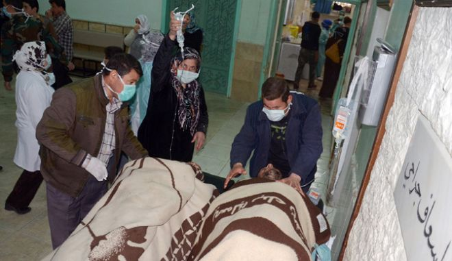 Human Rights Watch: Οι συριακές κυβερνητικές δυνάμεις ευθύνονται για την επίθεση με χημικά όπλα