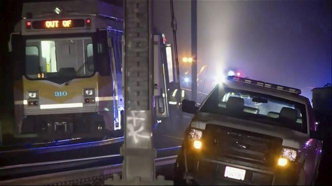 Βόρεια Καλιφόρνια Εκτροχιασμός τρένου με 27 τραυματίες