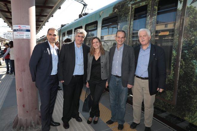 Ολοκληρώνεται η ηλεκτροκίνηση στα τρένα μέχρι τον Πειραιά