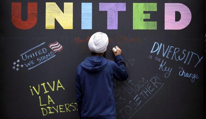 Δράση κατά του λαϊκισμού και του ρατσισμού, στο Τέξας των ΗΠΑ