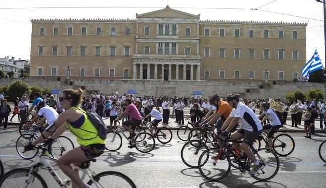 24ος Ποδηλατικός Γύρος Αθήνας