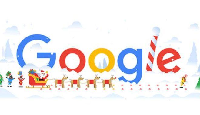 Χριστούγεννα 2018: Το εορταστικό doodle της Google