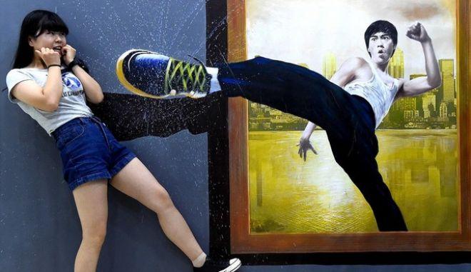 Εκπληκτικές εικόνες από το μουσείο των οπτικών ψευδαισθήσεων
