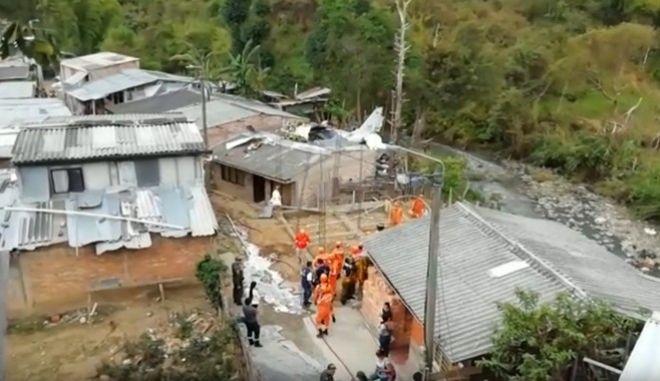 Κολομβία: Τουλάχιστον 7 νεκροί από συντριβή μικρού αεροσκάφους