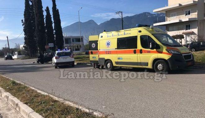 Σοβαρό ατύχημα συνέβη στη Λαμία