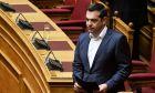 Ο πρωθυπουργός Αλέξης Τσίπρας στη Βουλή