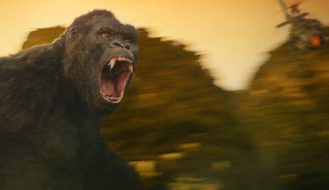 Is that a monkey? Το νέο τρέιλερ του «Kong: Skull Island» έχει βασιλιά
