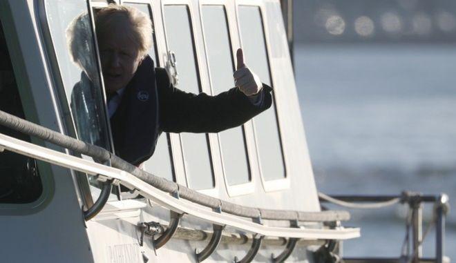 Ο πρωθυπουργός της Βρετανίας Μπόρις Τζόνσον.