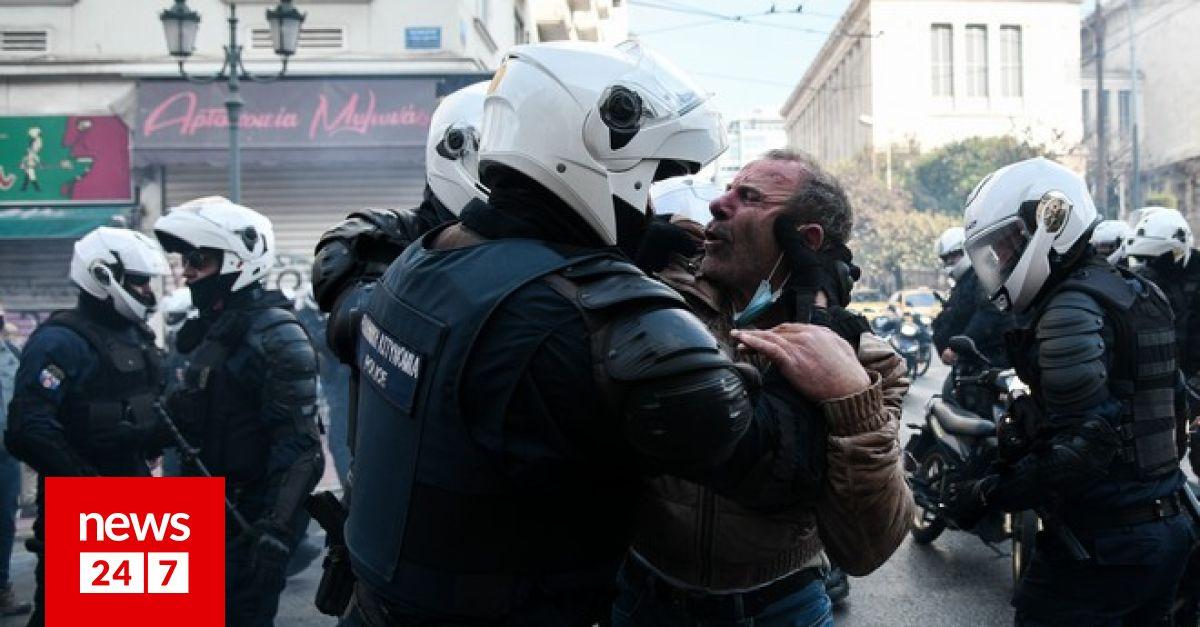 Επεισόδια στο κέντρο της Αθήνας: Όργιο αστυνομικής βίας καταγγέλλει το ΚΚΕ – Κοινωνία