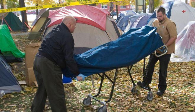 """Άγρια καταστολή κατά του """"Occupy Wall Street"""""""