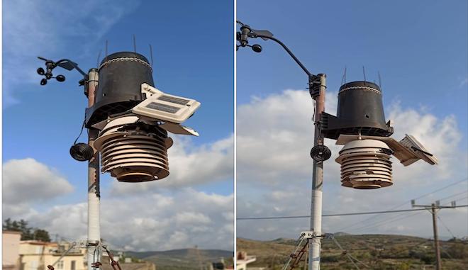 Κρήτη: Κατέστρεψαν μετεωρολογικό σταθμό με μπαλωθιές