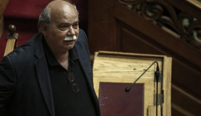 Discussion and vote at the plenum of the Greek parliament on the new agreement and the new prior actions required. In Athens, on Aug. 13, 2015 /           ,  ,  13 , 2015