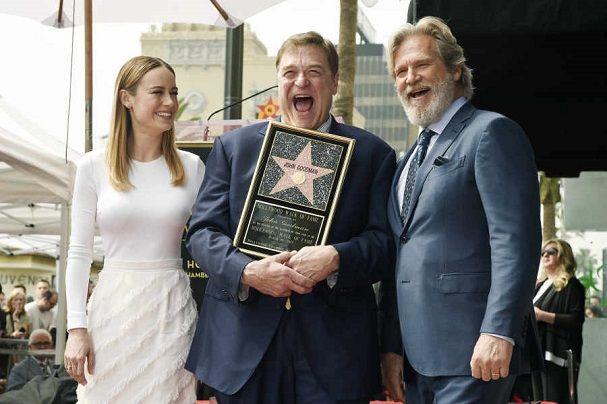 O Τζον Γκούντμαν απέκτησε το δικό του Χρυσό Αστέρι στην Λεωφόρο του Χόλιγουντ