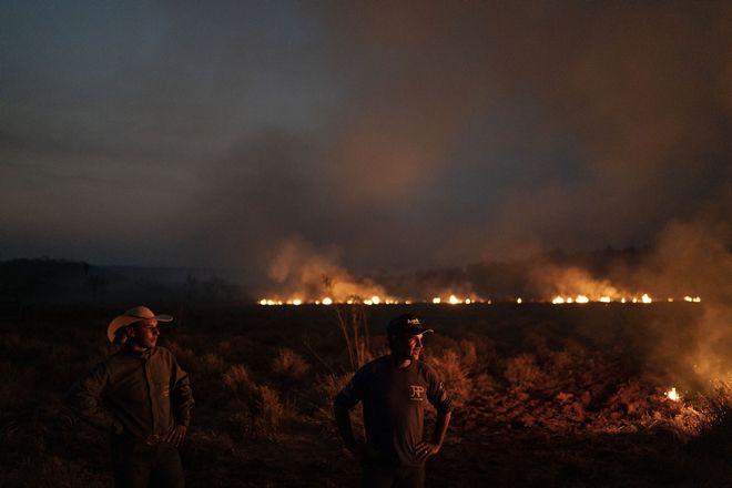 Ο Αμαζόνιος καίγεται