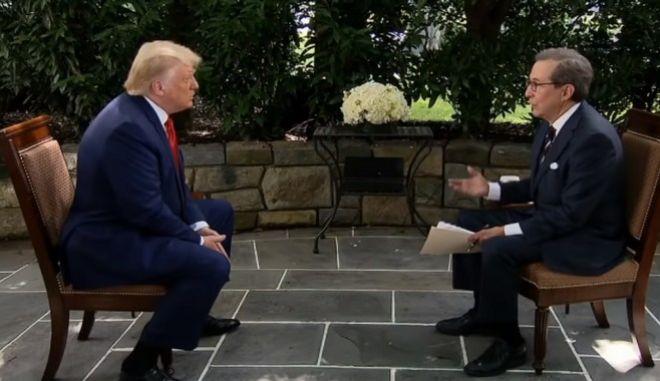 Δημοσιογράφος του Fox διέψευσε κατ' επανάληψη τον Τραμπ σε συνέντευξή του