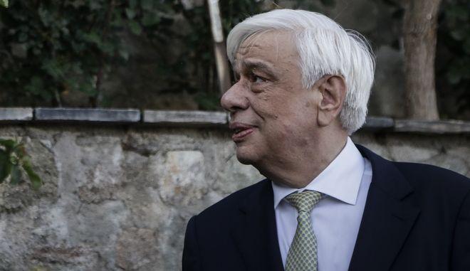 Ο Πρόεδρος της Δημοκρατίας Προκόπης Παυλόπουλος - Φωτογραφία αρχείου