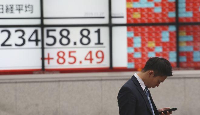 Το χρηματιστήριο του Τόκιο.