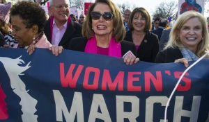 Λαοθάλασσα στην 'Πορεία των Γυναικών' κατά του Τραμπ